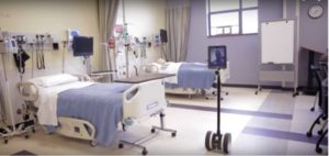 clinical simulations, telepresence robots