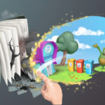 augmented reality education game