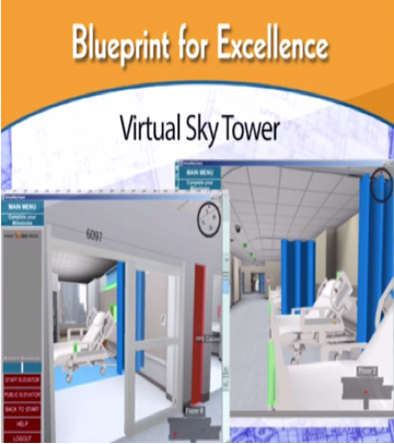 virtual simulation learning Sky Tower